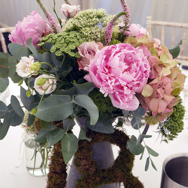 Peony, Veronica, Hydrangea Bouquet